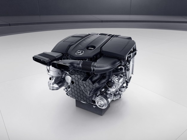 Mercedes-Benz Debuts New Four-Cylinder Diesel-media-1