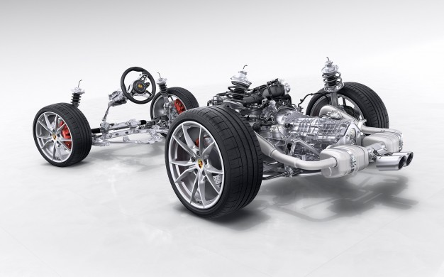 Porsche 718 Boxster / Boxster S turbocharged flat-four