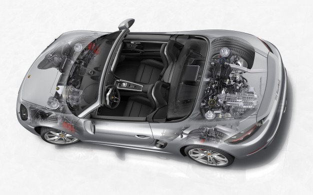 Tech Dive: In-Depth with the New Porsche 718 Boxster's Turbocharged Flat-Fours-media-1