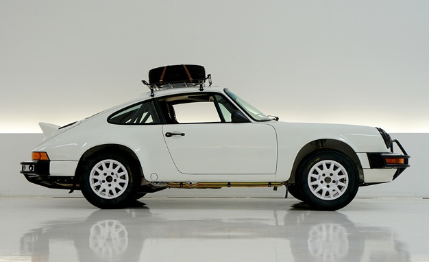 Buy Patrick Long's Amazing Rally Porsche 911, Support Cancer Research-media-3