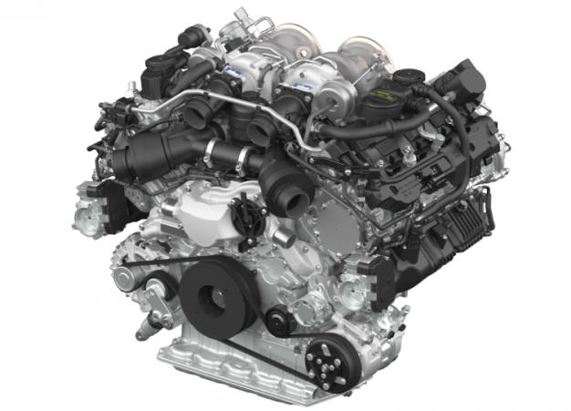 Porsche V-8 engine