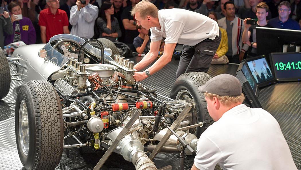 804 Formel 1, Porsche Sound Night, Zuffenhausen, 2016, Porsche AG