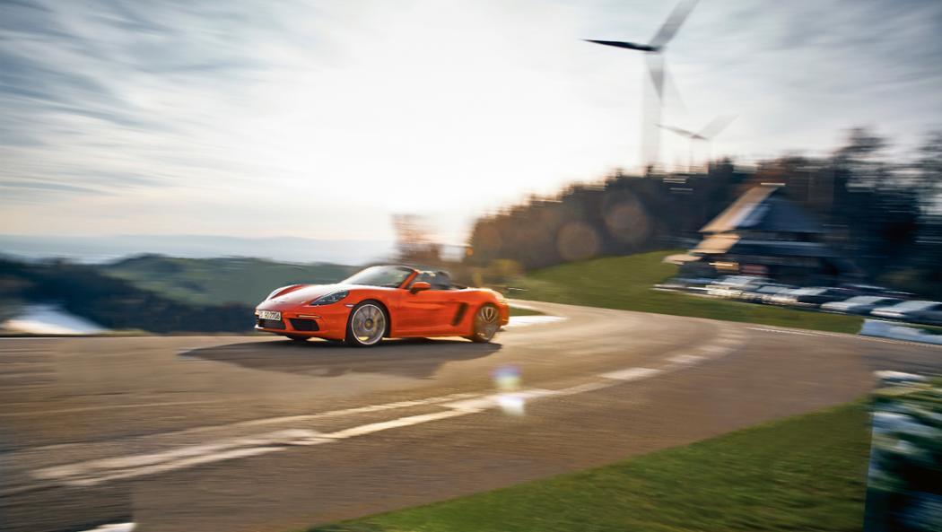 718 Boxster S, Schauinsland hill-climb, 2016, Porsche AG