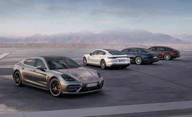 2017 Porsche Panamera (Euro-spec)