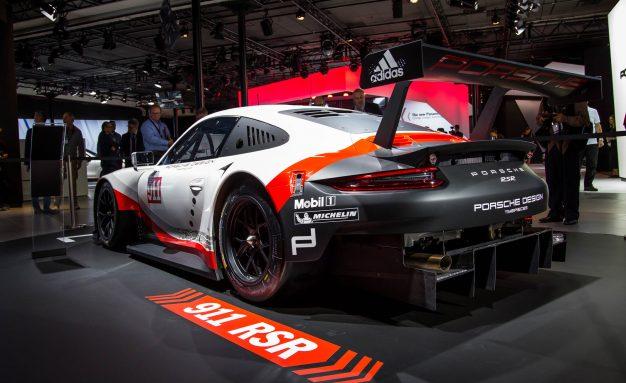 Porsche 911 RSR race car