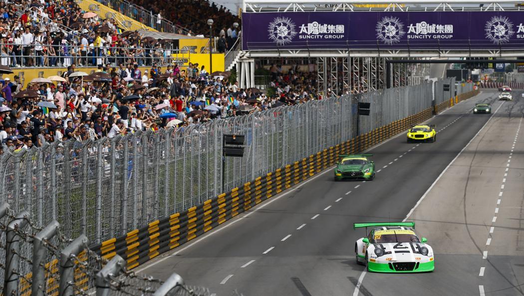 911 GT3 R, Team Manthey Racing, FIA GT World Cup, Macau/China, 2016, Porsche AG