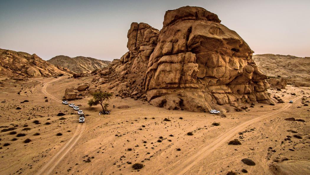 Namibia, 2016, Porsche AG