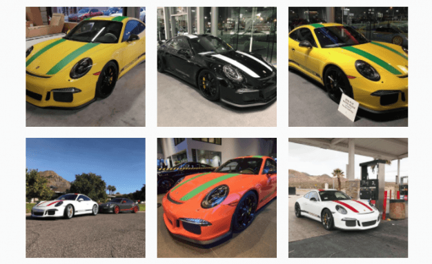 Club 911R Instagram photos of Porsche 911Rs