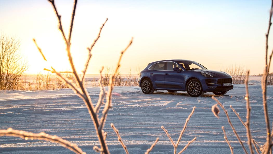Macan Turbo, Performance Package, winter driving event, Finland, 2016, Porsche AG