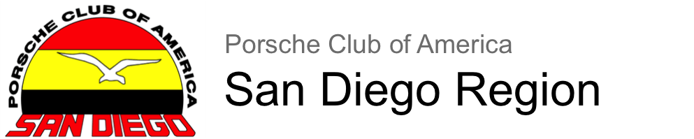 Porsche Club of America San Diego Region