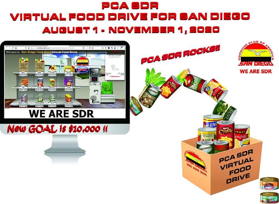 PCA SDR Virtual Food Drive